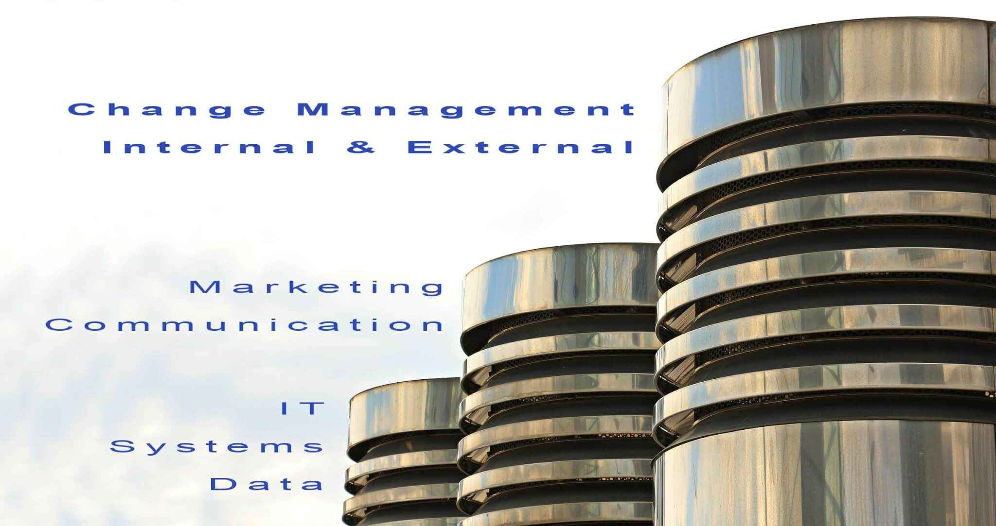 - Start a Digital Transformation Project: Change Management: There a 3 pillars. You will find much about Marketing and Communication within this blog. Also there is a strong attention on IT, systems and data. In this blog post now I would like to focus on the third pillar... Change Management. This is, maybe, the most important pillar.
