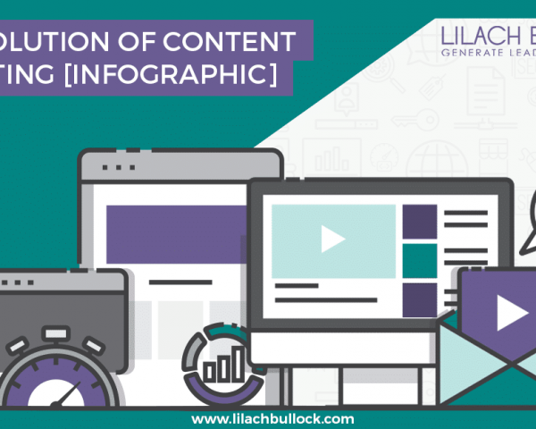The evolution of content marketing Infographic