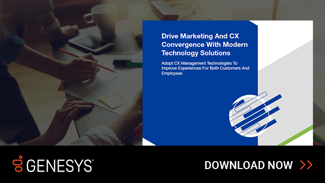 - Drive Marketing and CX Convergence With Modern Technology Solutions: Read this Forrester study to get recommendations on meeting marketing and customer experience goals using modern technologies.