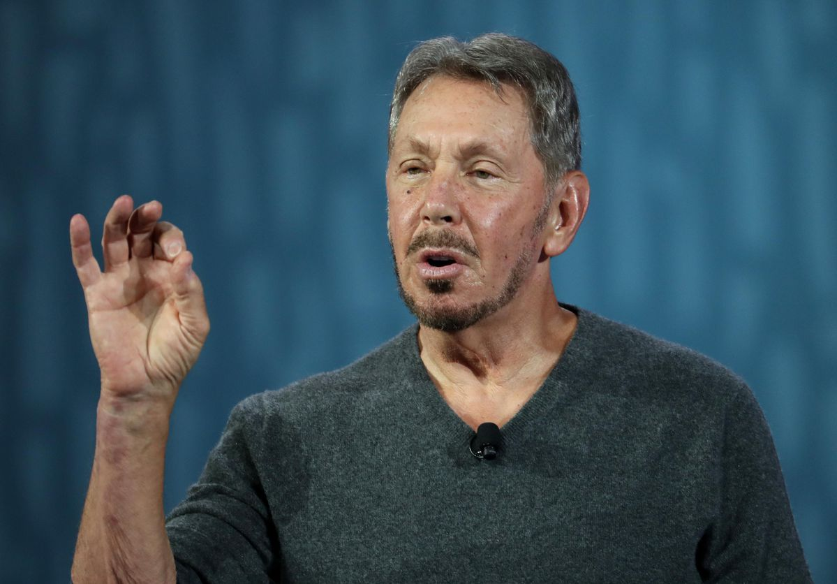 - Oracle's Larry Ellison and the