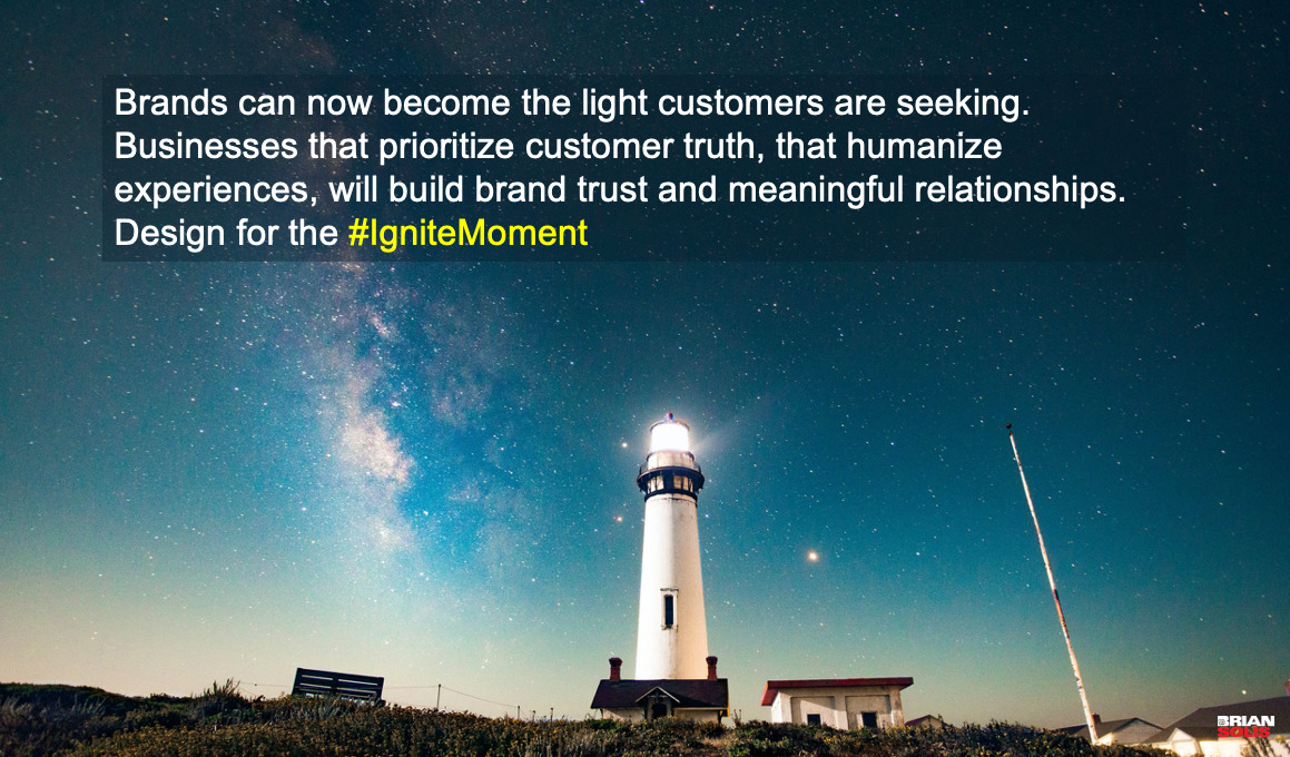 - Customers Experience So Much Darkness in Their Journey, Optimize Digital Customer Experiences to Deliver the Light: Today's customer journey is built upon decades of legacy infrastructure. Even with modernization, the relationship between digital and physical touch points are often disjointed, transactional, and in many cases, they just feel outdated.